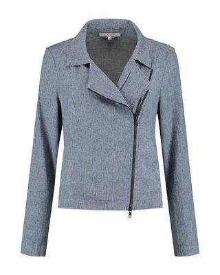 SYLVER Linen Cotton Lycra Jacket