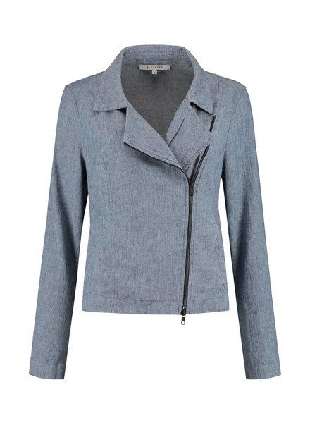 SYLVER Linen Cotton Elasthane Jacket