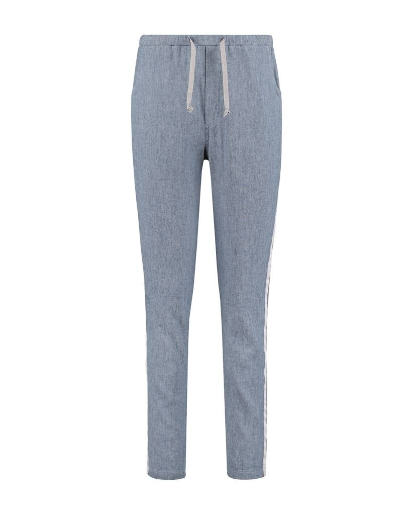 SYLVER Linen Cotton Lycra Pants