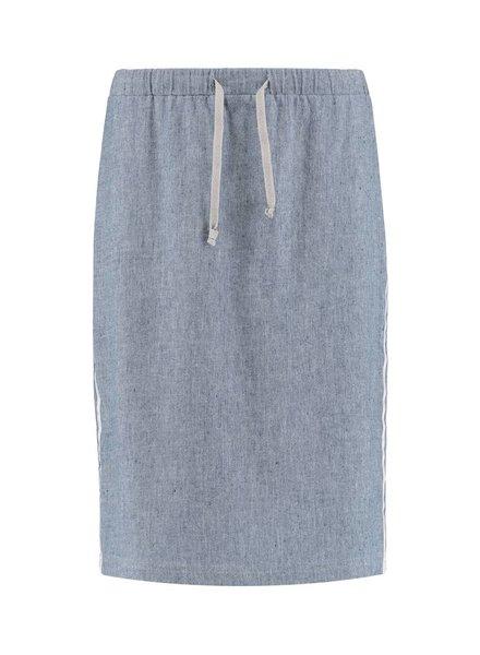 SYLVER Linen Cotton Elasthane Skirt
