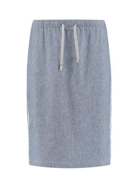 SYLVER Linen Cotton Lycra Skirt