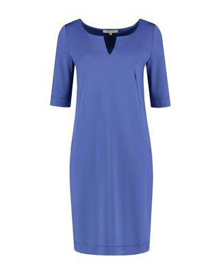 SYLVER Silky Jersey Dress Round Neck