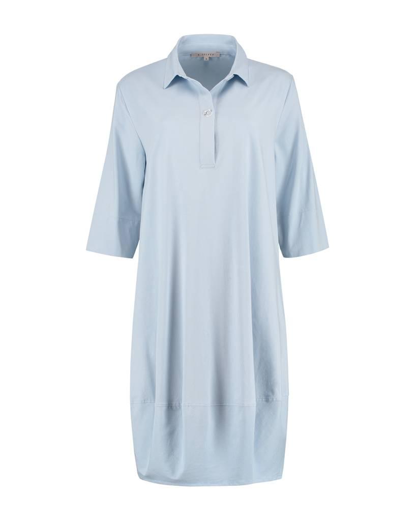 SYLVER Cotton Lycra Dress Round