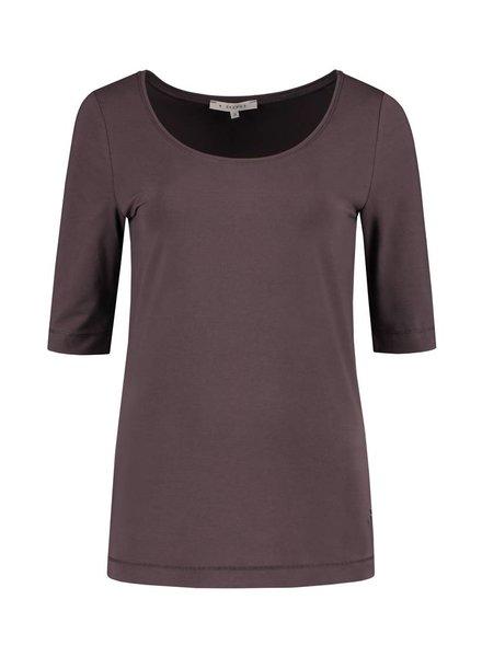SYLVER Cotton Lycra Round Neck Shirt