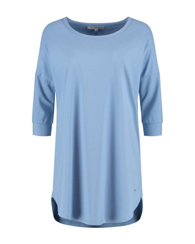 SYLVER Cotton Elasthane Shirt Long