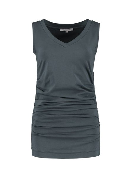 SYLVER Cotton Elasthane Shirt Sleeveless