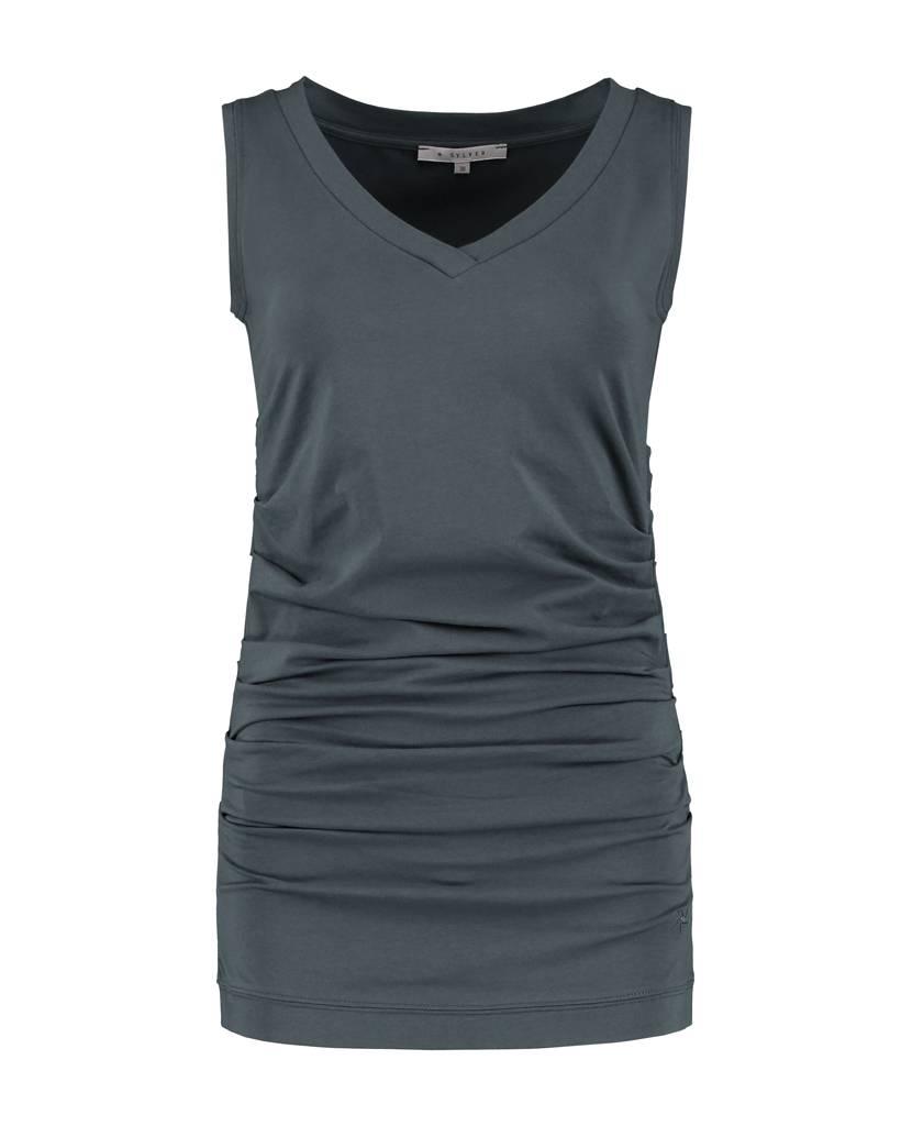 SYLVER Cotton Elasthane Shirt Sleeveless