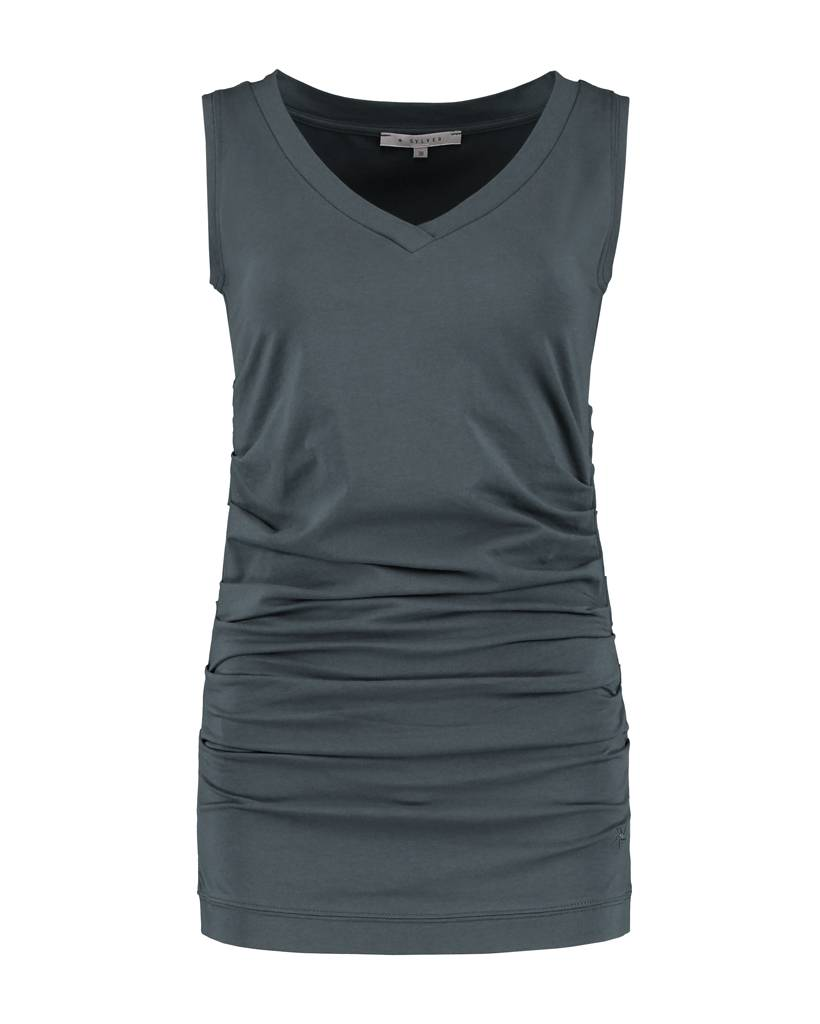 SYLVER Cotton Lycra Sleeveless Shirt