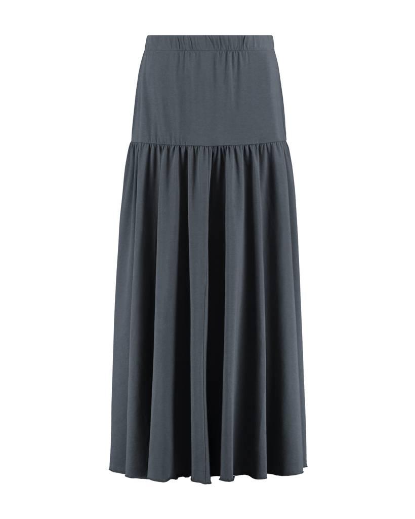 SYLVER Cotton Lycra Long Skirt