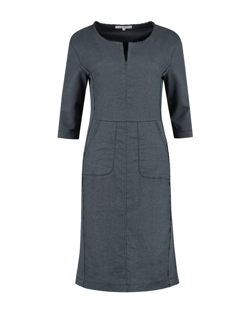 SYLVER Cotton Sweat/Linen Dress Sleeves