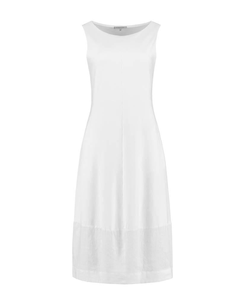 SYLVER Sweat Cotton / Linen Dress