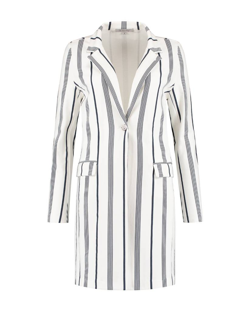 SYLVER Stripe Sweat Blazer