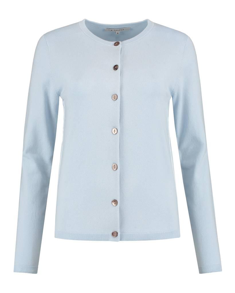 SYLVER Combed Cotton Cardigan short