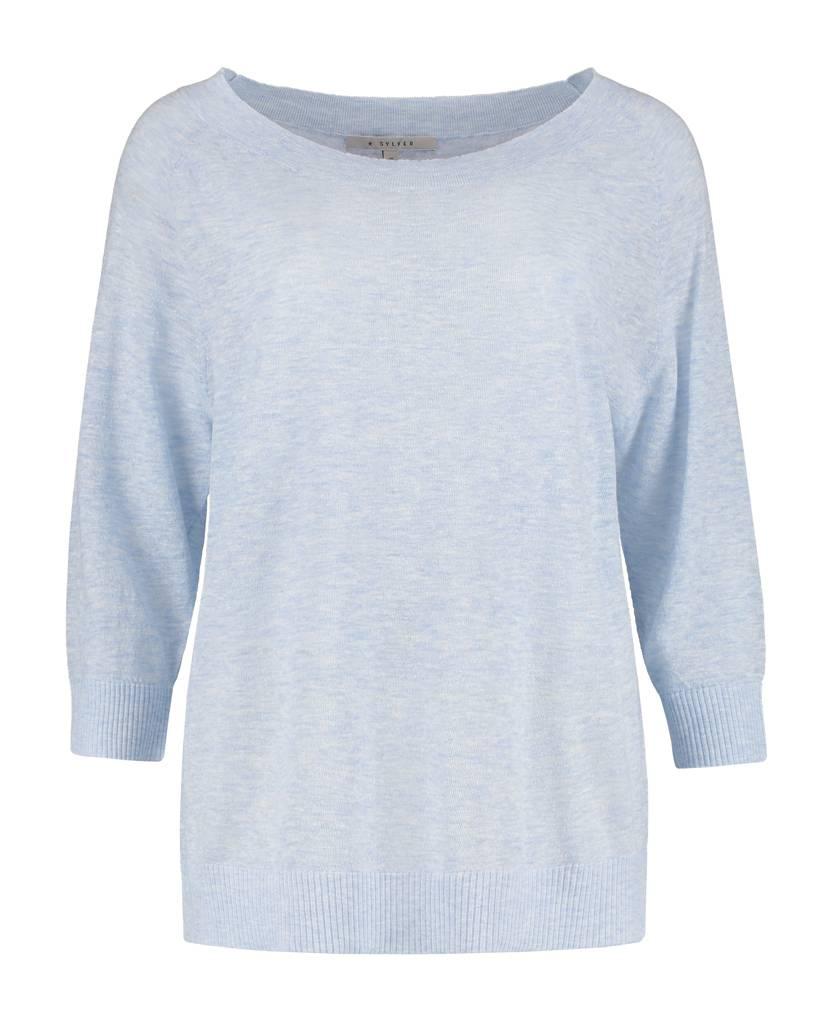 SYLVER Gauze Uni Shirt