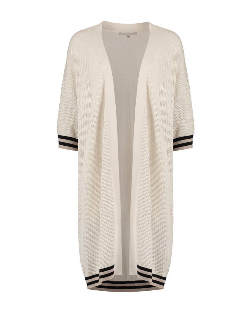 SYLVER Fancy Cotton Cardigan Long