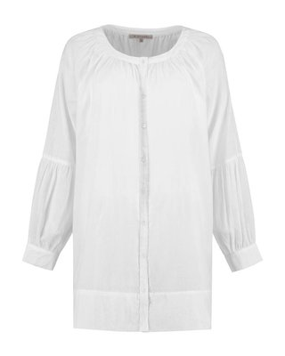 SYLVER Cotton Voile Blouse