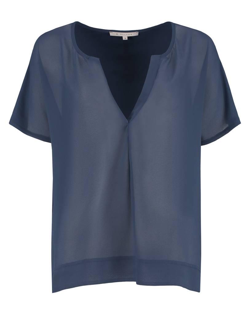 SYLVER Crepe Shirt