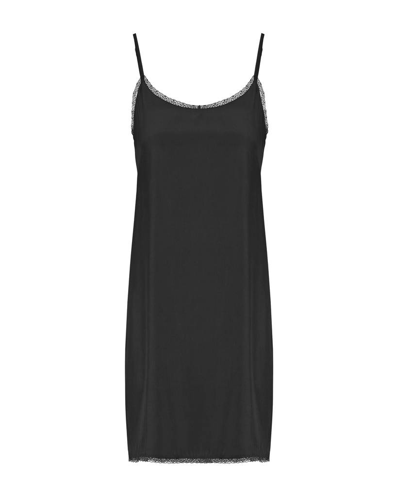 SYLVER Silky Poly Dress