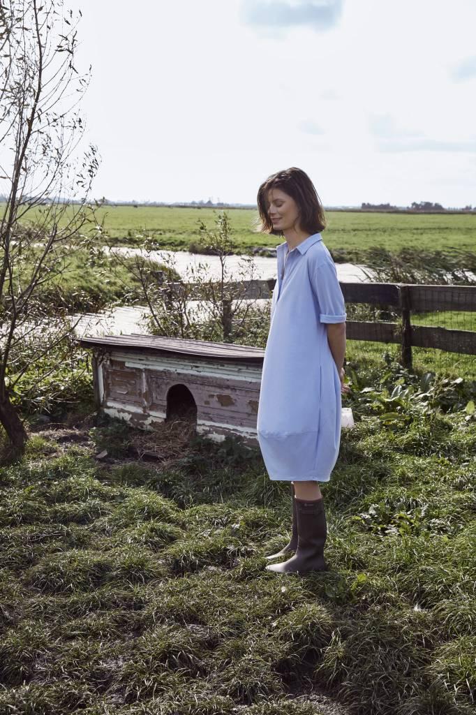 SYLVER Cotton Elasthane Dress Round