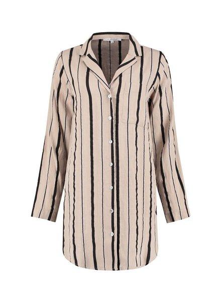 SYLVER Summer Stripe Blouse
