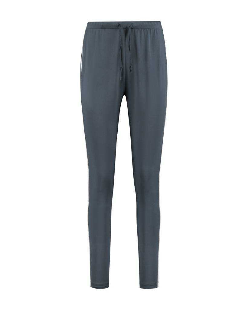 SYLVER Silky Jersey Pants Striped Tape