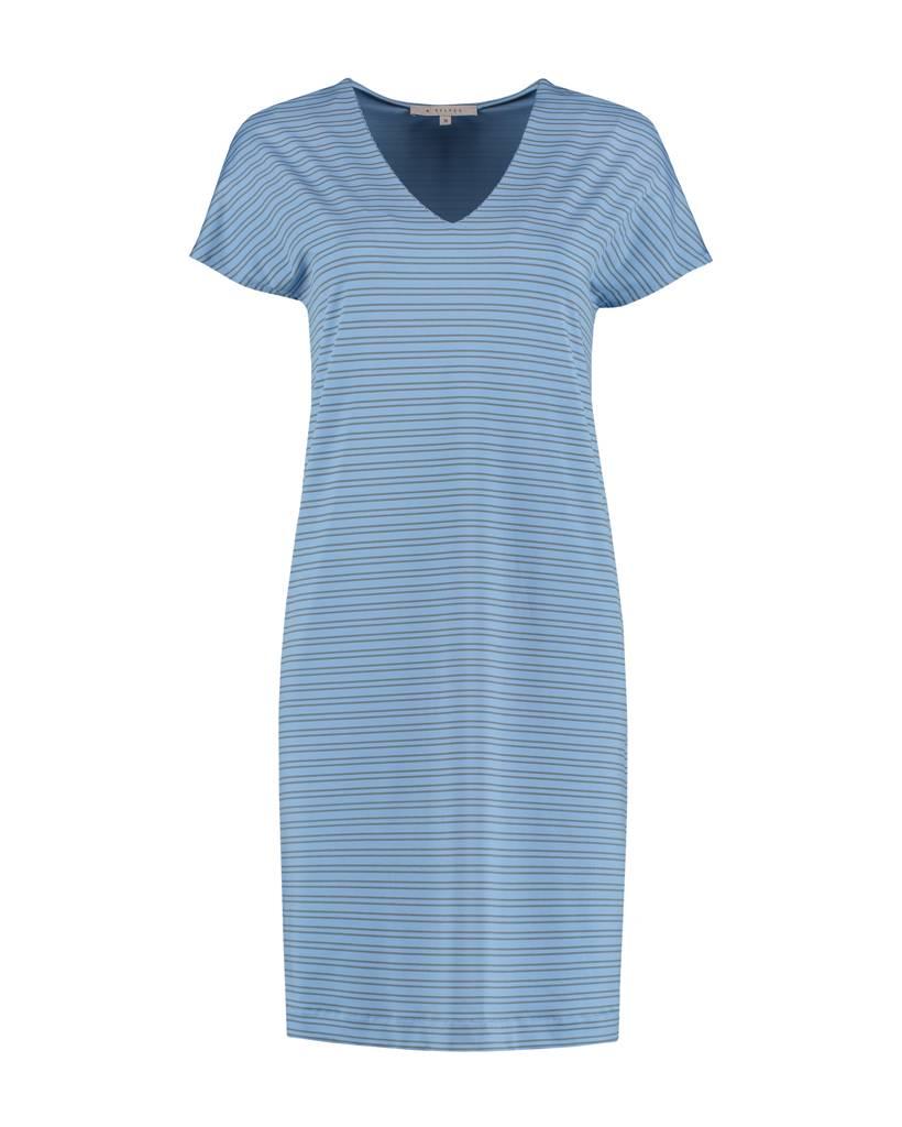 SYLVER Silky Double Stripe Dress Short