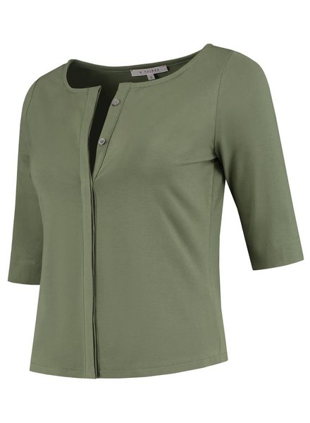 SYLVER Cotton Lycra Blouse Buttons