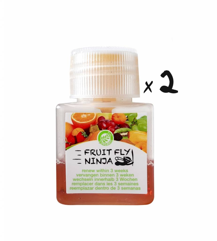 2-Pack (2 XL fruit fly traps)