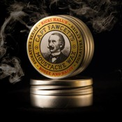 Captain Fawcett Moustache Wax Ricki Hall Booz & Baccy