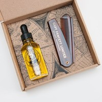 Captain Fawcett Beard Oil / Comb Gift Set