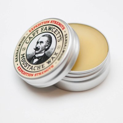 Captain Fawcett Moustache wax extra strength