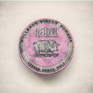 Reuzel Pink Heavy Hold Grease Pomade