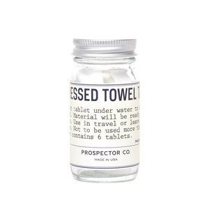 Prospector Co. Compressed Towels 6 pack