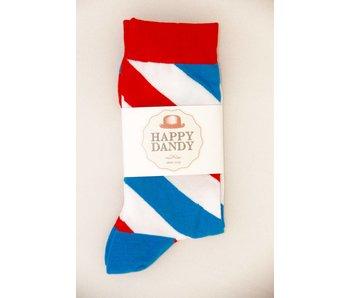 Happy Dandy Barbershop Socks