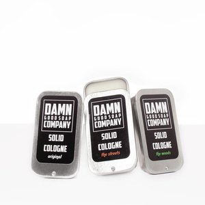 Damn Good Soap Solid Cologne Original