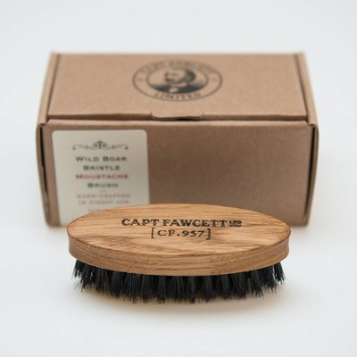 Captain Fawcett Moustache Brush