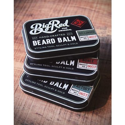 Big Red Beard Combs Beard Balm