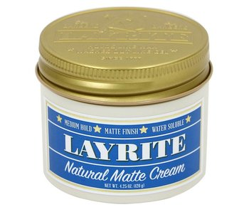 Layrite Men Pomade Natural Matte Cream
