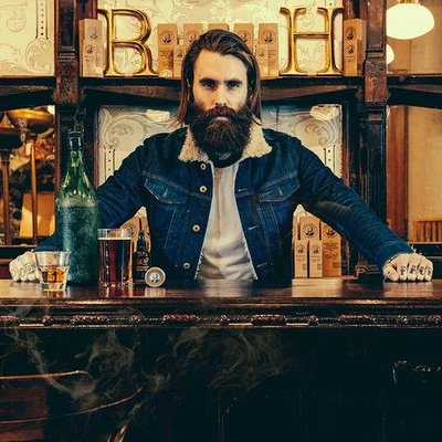Captain Fawcett Beard Oil Ricki Hall Booze & Baccy Small