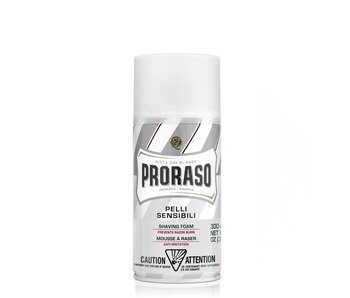 Proraso Scheerschuim White Sensitive