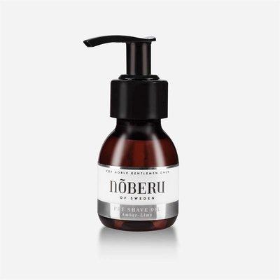 Noberu Pre Shave olie Amber-Lime
