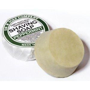 Dr K Soap Company Scheerzeep Peppermint 100% natuurlijk