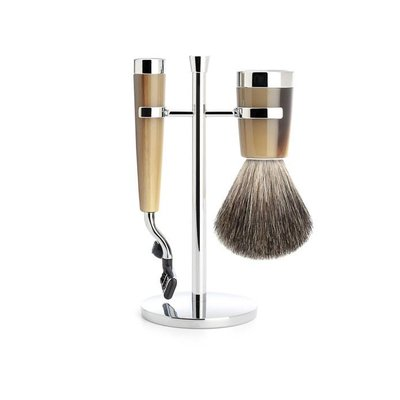 Muhle Muhle Set Liscio Hoornbruin Mach3®-Dashaar (3-delig)
