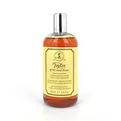 Taylor of Old Bond Street Luxery Hair & Body Shampoo 200ml Sandelwood