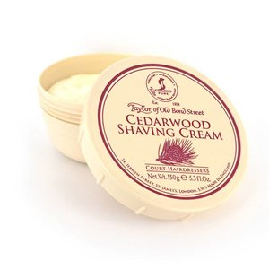 Taylor of Old Bond Street Pot scheercreme 150g Cedarwood