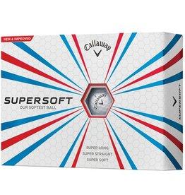 Callaway Supersoft12 dozijn Logo golfballen