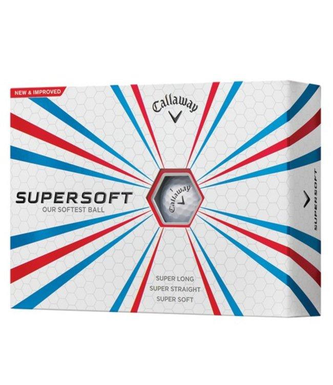 Callaway Callaway Supersoft 12 dozijn Logo golfballen
