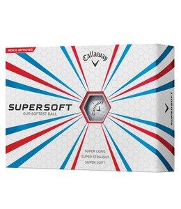 Callaway Supersoft 36 dozijn Logo golfballen