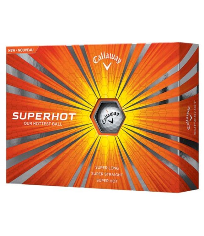 Callaway Callaway Superhot 12 dozijn Logo ballen