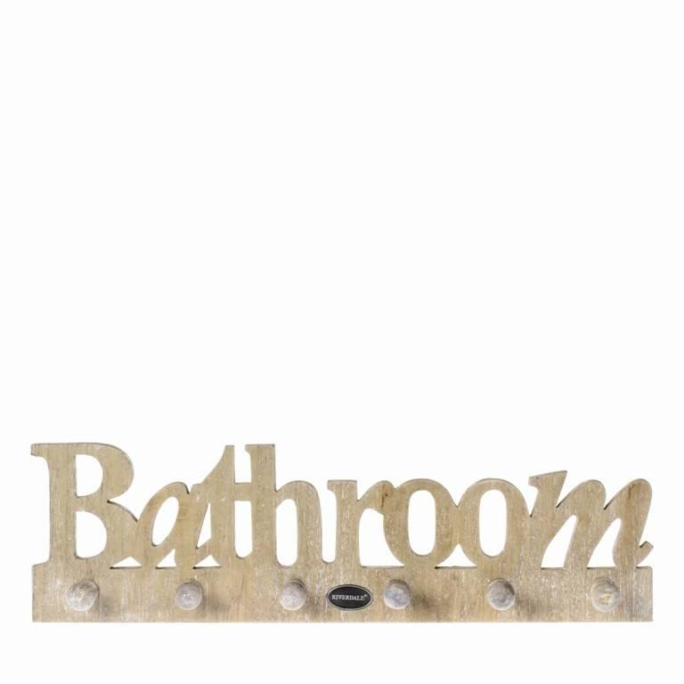 Riverdale Keuken Textiel : Riverdale HAAK BATHROOM 40CM NATUREL – Jardinerie
